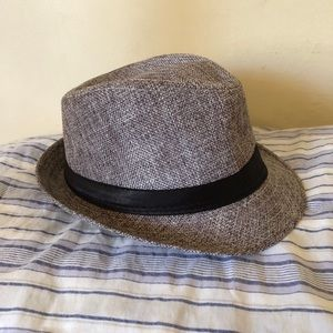 Fedora style hat for toddler
